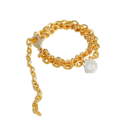 GINA WITH BAROQUE PEARL Anklet