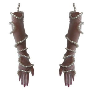 THE GHOST PEARL GLOVES - Mesh