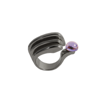 Load image into Gallery viewer, LENNY BLACK RHODIUM Ring