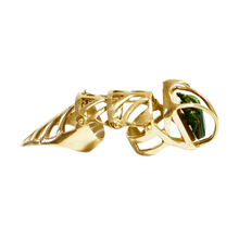 Load image into Gallery viewer, NIETZSCHE GOLD Armor Ring