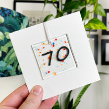 Load image into Gallery viewer, 70th Birthday Card