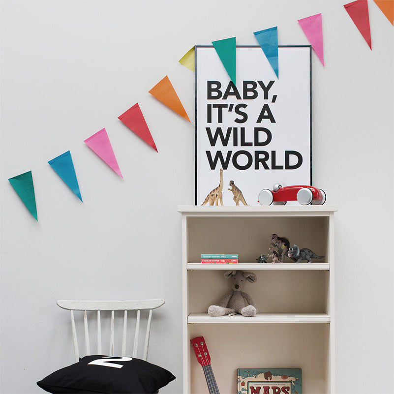 Baby it's a wild world poster by Wild Boys & Girls