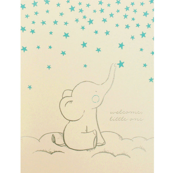 starry elephant card