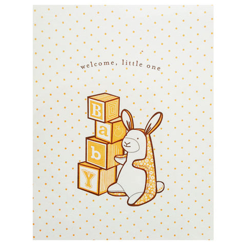 newborn girls card