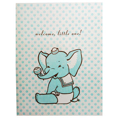 newborn boys card