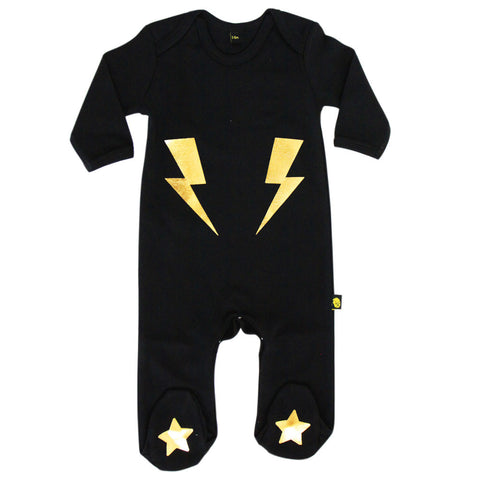 lightning bolt sleepsuit