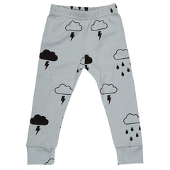 Grey Storm Boy leggings