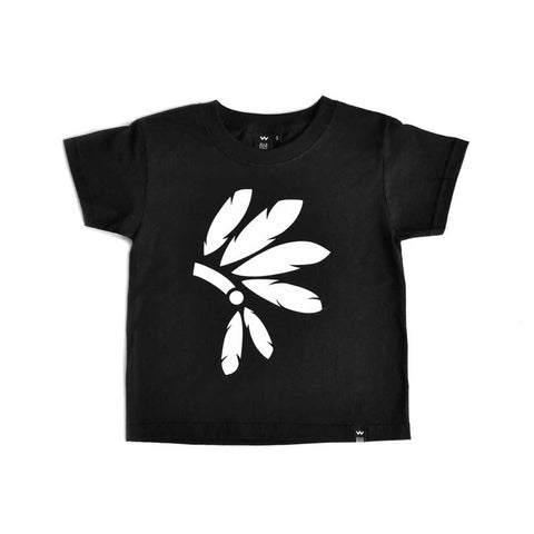 black headdress tshirt