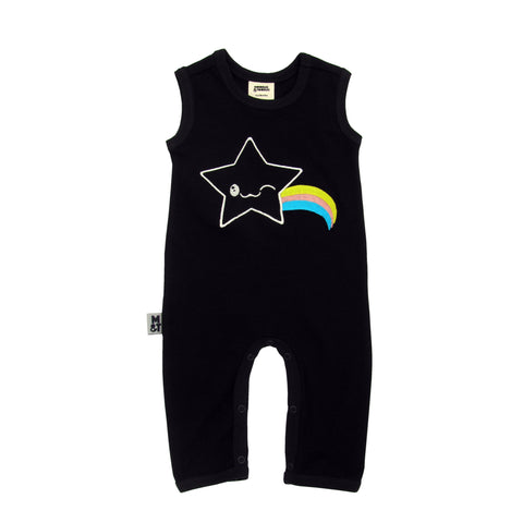 Kawaii Star Organic Cotton sleeveless romper