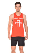 Red cheri Pump Ion tank - Red