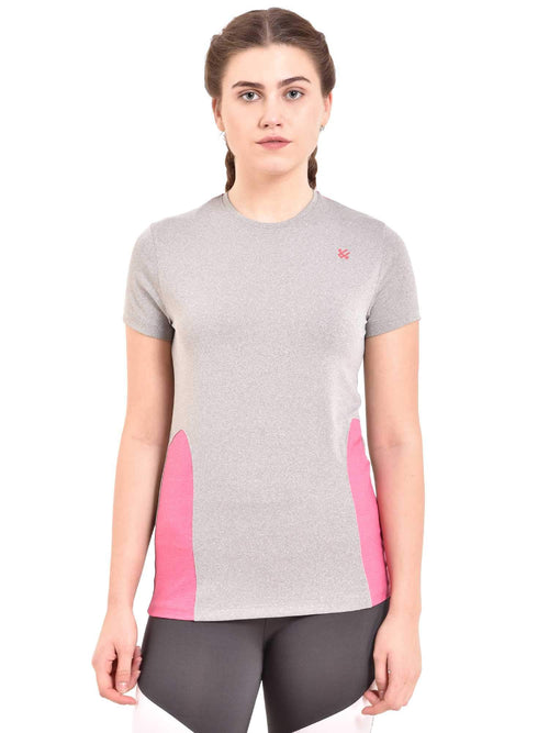 pink gym tshirt for girls