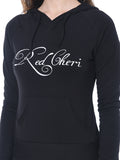 Red Cheri Everyday Sudaderas con capucha