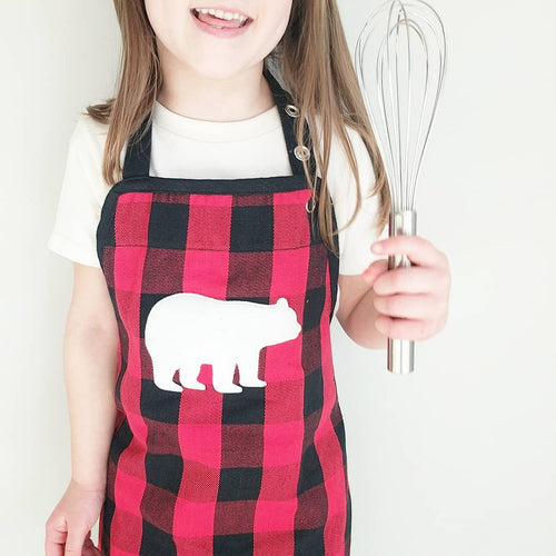 Kids Bear Apron