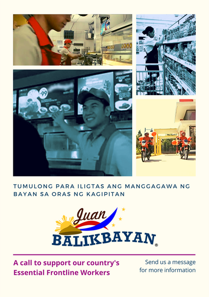 Juan Balikbayan gives back