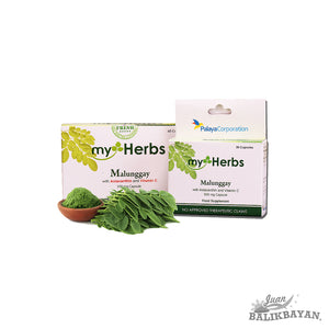 myHerbs Malunggay with Astaxanthin and Vitamin C Food Supplement