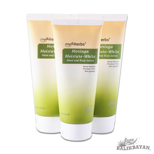 Moringa Moisture-White Hand and Body Lotion