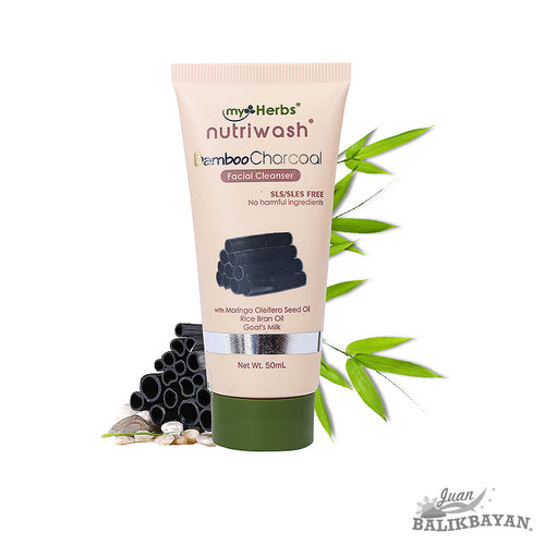 Nutriwash Bamboo Charcoal Facial Cleanser