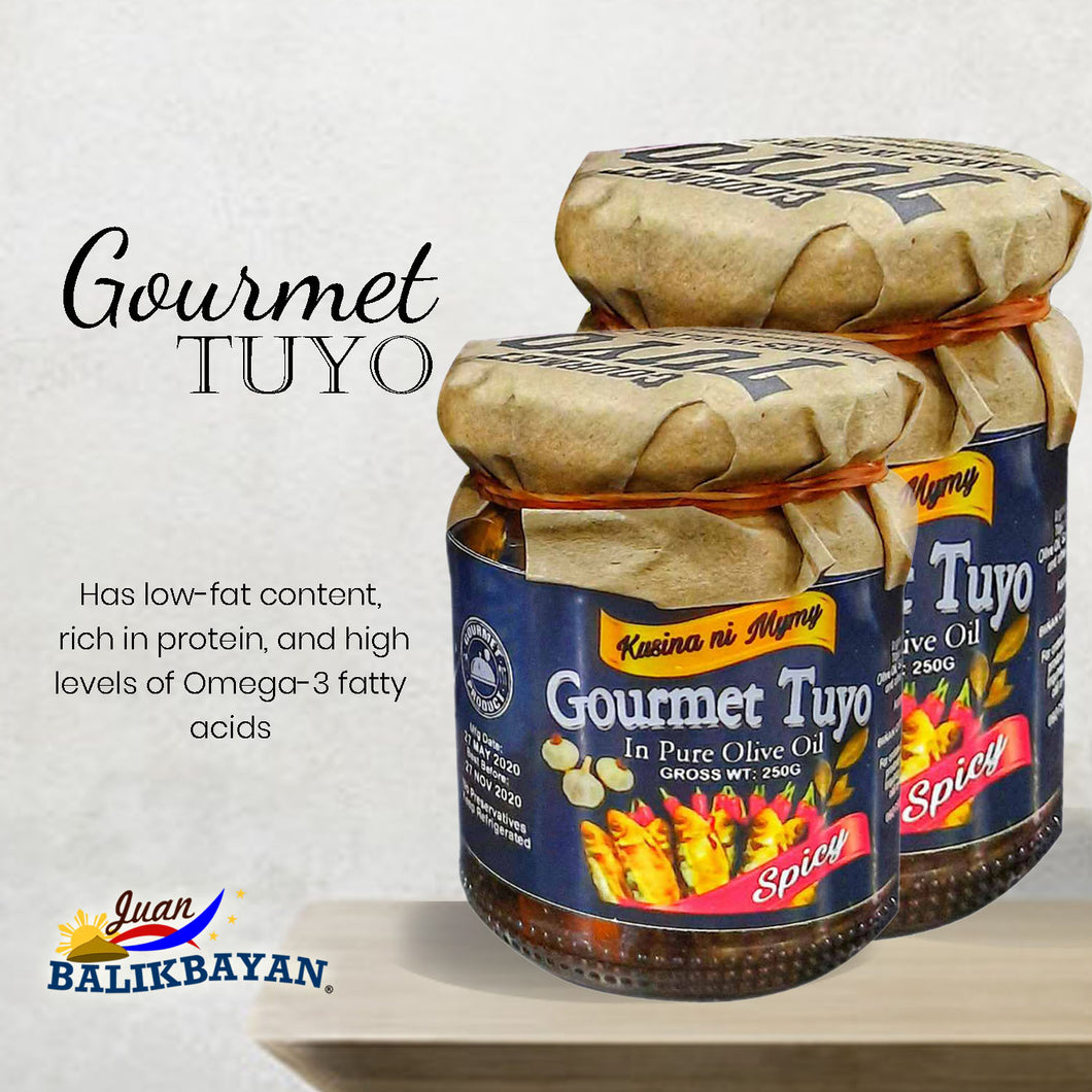 Gourmet Tuyo in Olive Oil