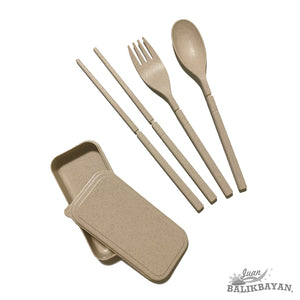 Portable Wheatgrass Cutlery