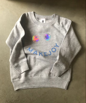 OKAYOK x makejoy kids sweatshirt