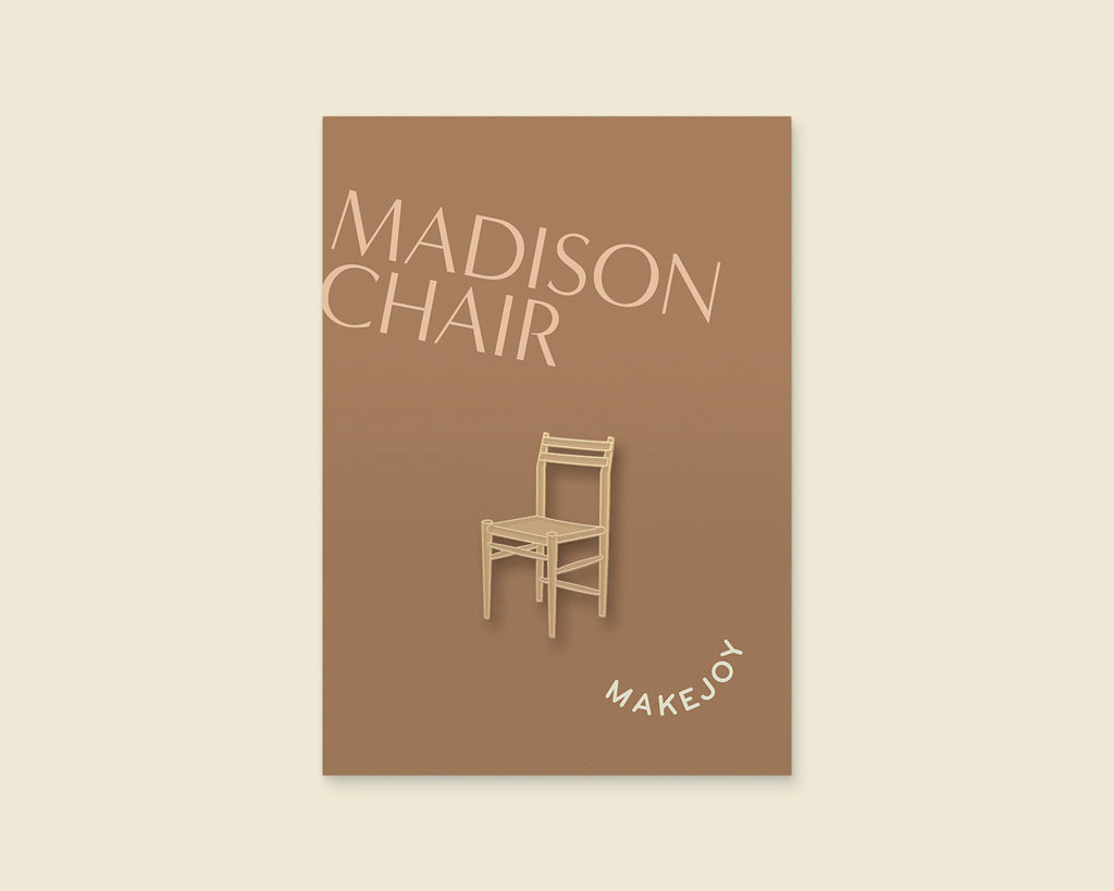 Chair Enamel Pin