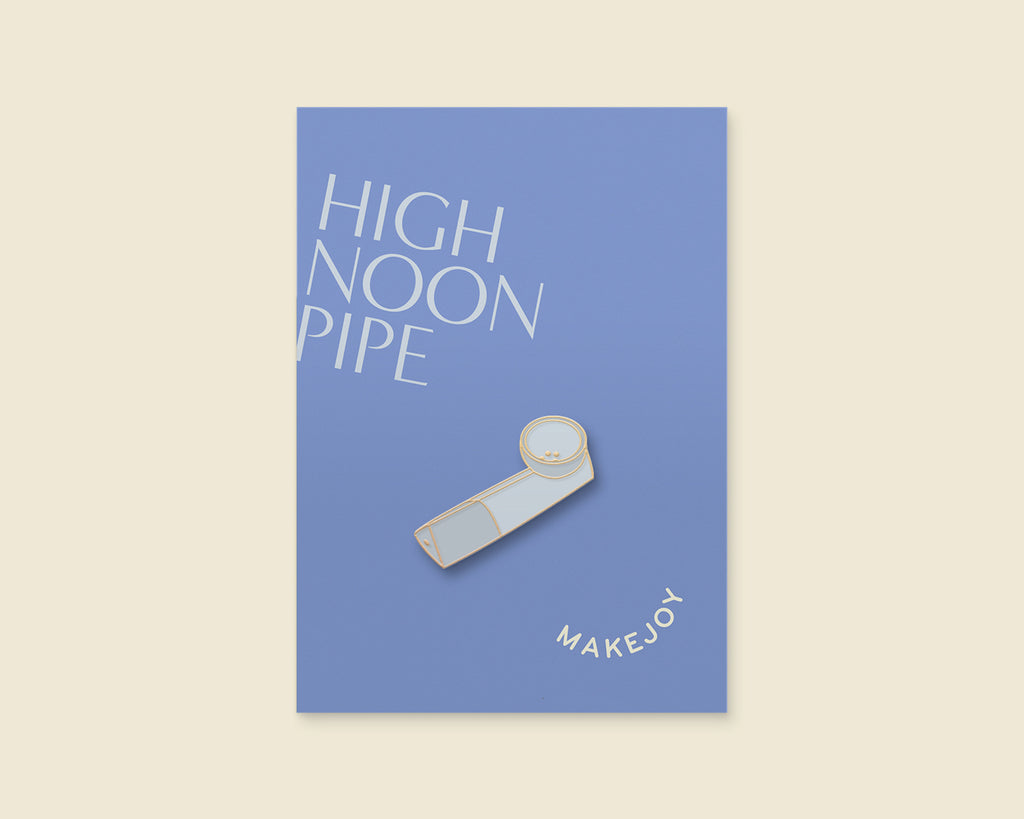 Pipe Enamel Pin