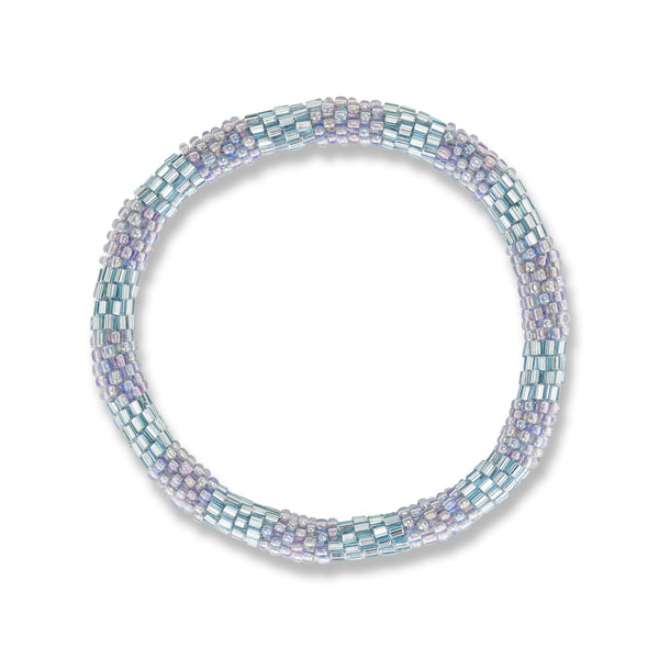 Light dusty blue shimmer Bracelet
