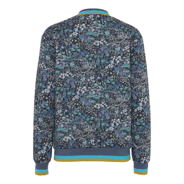 Emma quilted jacket - Blue Liberty