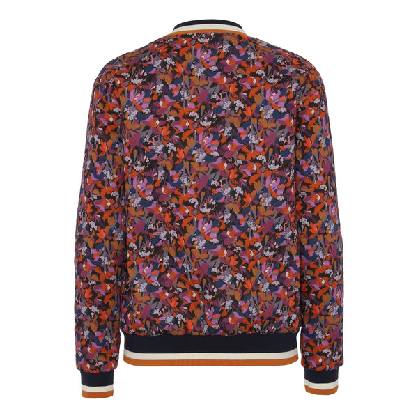 Emma quilted jacket-Red Liberty