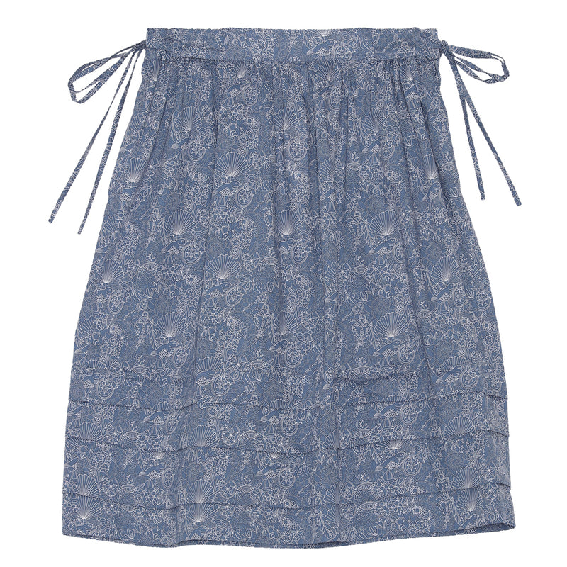Poppy skirt-Blue