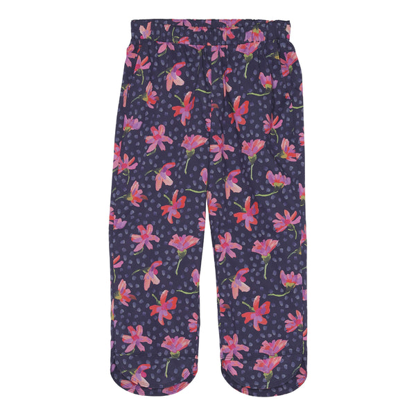 Mrs Skan trousers - Blue flower
