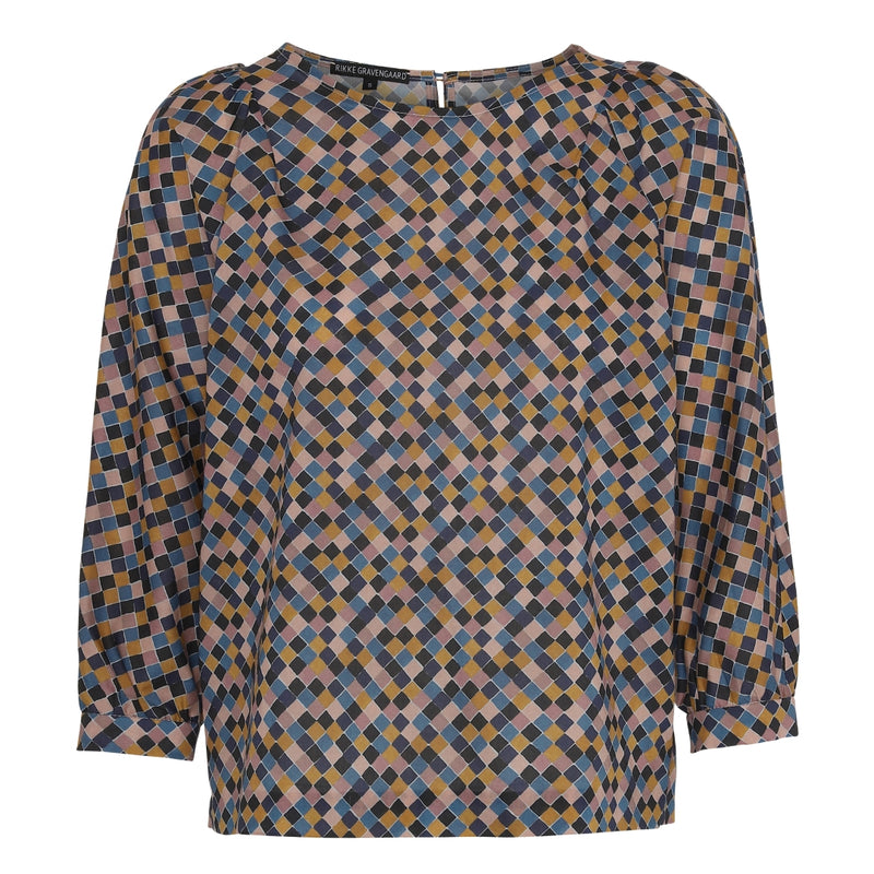 Blouse in Liberty Print