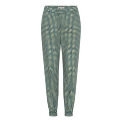 Heidi trousers - Green poplin