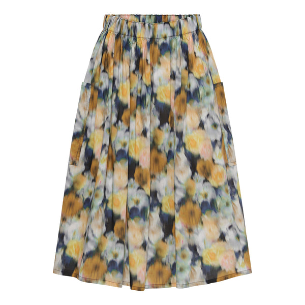 Lulu skirt-Blue flower