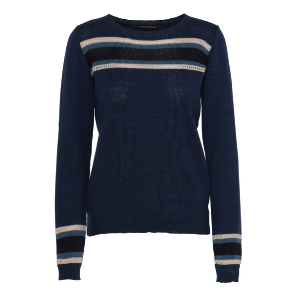 Blue Merino wool Sweaters