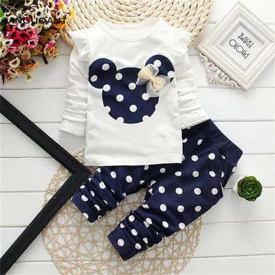 Dotted Baby 2-Set Piece - Baby Newborn Store