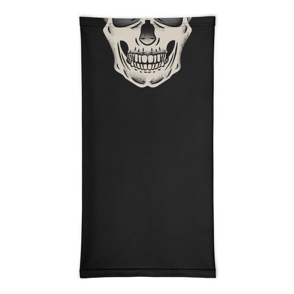 Classic Skull - Biker Neck Gaiter, - City Radical