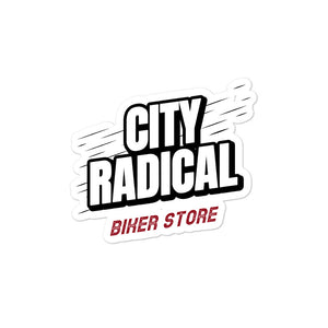 City Radical Biker Store sticker