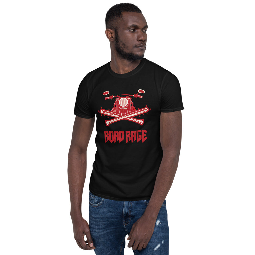 Road Rage - Biker T Shirt,  - City Radical