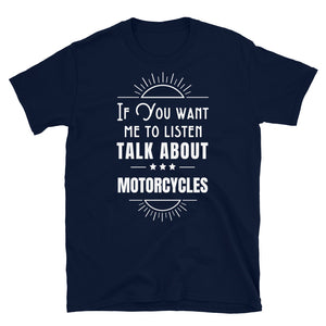 Let's Talk - Biker T Shirt,  - City Radical
