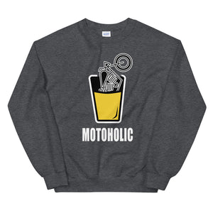 Motoholic -  Biker Sweatshirt,  - City Radical