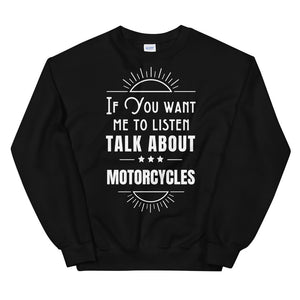 Let's Talk - Biker Sweatshirt,  - City Radical