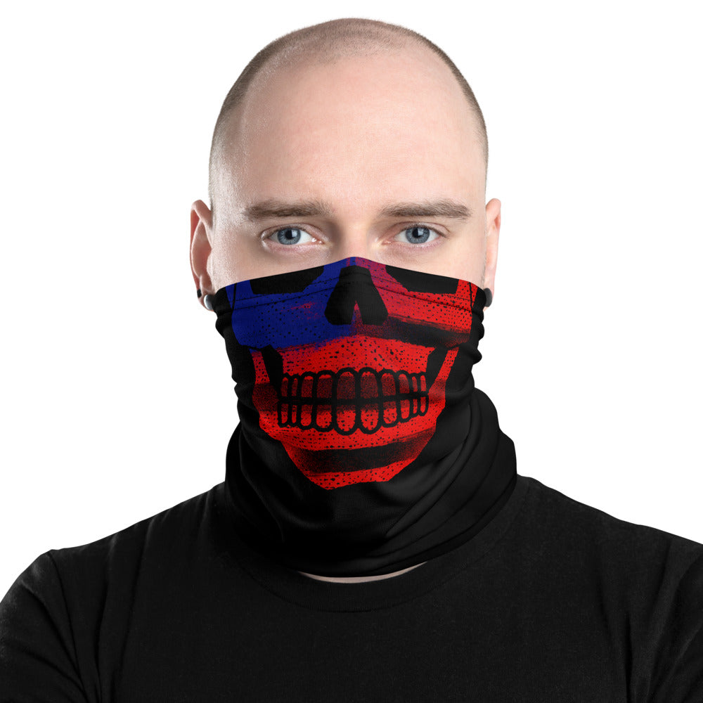 US Flag Skull - Biker Neck Gaiter, City Radical Biker Store