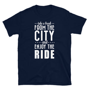 Enjoy The Ride Biker T Shirt,  - City Radical