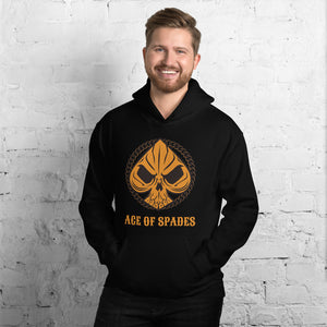 Ace of Spades - Biker Hoodie,  - City Radical