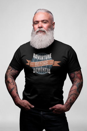 Adventure Before Dementia - Biker T shirt,  - City Radical