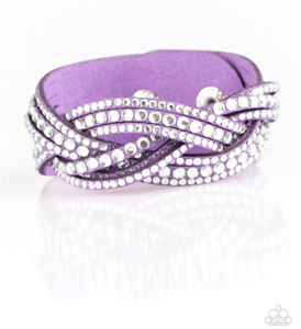Bring On The Bling-Purple Wrap