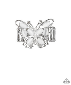 Flutter Flair-White Ring