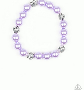 Rosy Radiance-Purple Bracelet