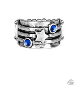 Stars And Stripes-Blue Ring